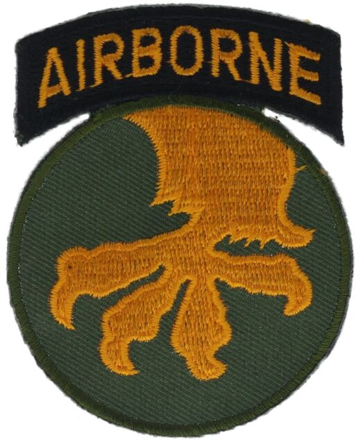 """0080 U.S ARMY 17TH AIRBORNE DIVISION Embroidered Patch 3/"""""""