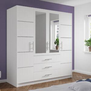 kleiderschrank spiegel modern, kleiderschrank fines d4 drehtür garderobe mit schubladen und spiegel, Design ideen