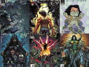 Darkness-Set-Paul-Jenkins-Dale-Keown-Variant-Witchblade-Millar-Wanted-Preview-NM