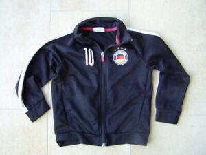 Coole-schwarze-Trainingsjacke-H-amp-M-Gr-98-104-Jungs