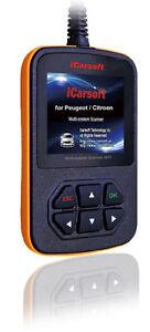 Peugeot citroen icarsoft i970 obd obd2 car diagnostic scanner tool image is loading peugeot citroen icarsoft i970 obd obd2 car diagnostic fandeluxe Gallery