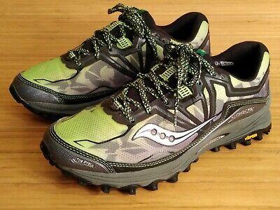 Details about Saucony Xodus 4.0 GTX Mens Black Trail Running Sneaker Gore tex 20203 1 US Sz 12