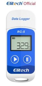 Elitech RC-5 USB Reusable Temperature Data logger Internal Sensor 32000 Points