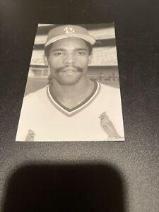 Luis DeLeon, St. Louis Cardinals, 1981, Postcard