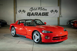 1994 Dodge Viper RT10, 8.0L V10, 6-spd Manual, Iconic Red, Exceptional condition, 17k miles.