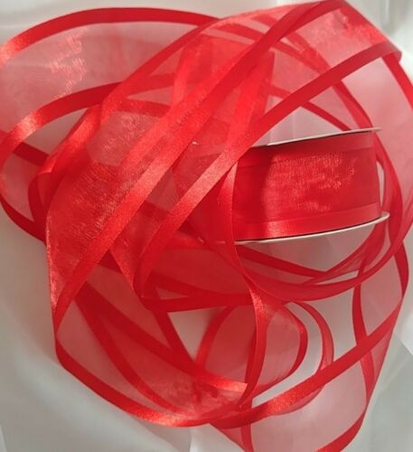 "any amount yards. Ribbons Organza//Satin 3 yards sections 1.5/"" wide  Shipping $3"