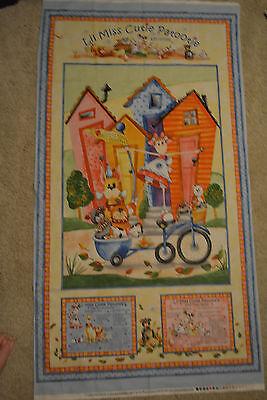 Kathy Davis PWKD086 Cutie Pie /& Lullabies Cutie Pie Blue Fabric By Yard