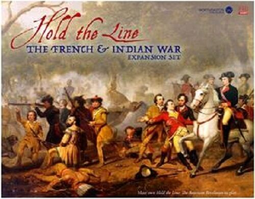 HOLD THE LINE  FRENCH INDIAN WAR EXPANSION EXPANSION EXPANSION - PSC004 -- BOARDGAME - e6eb02