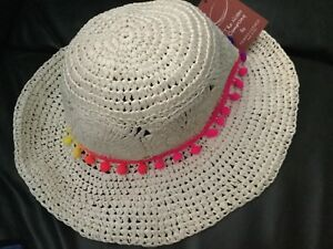 be7922c1c Details about The hats company by Filippo Catarzi - Women Hat 100% paper  -Made in Italy - New
