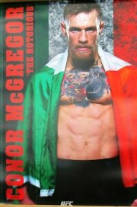 Conor-McGregor-UFC-Poster-Laminated-available-91cm-x-61cm-Brand-New