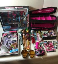 Huge Monster High Lot - Monster High Dolls Clothes Furniture & Accessories