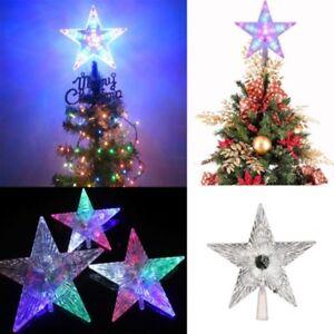 Christmas Tree Top Topper Led Flashing