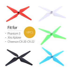 10pcs-CW-CCW-Propeller-Blade-Set-for-Xiro-Xplorer-Phantom-3-Drone-Black-Red-Blue