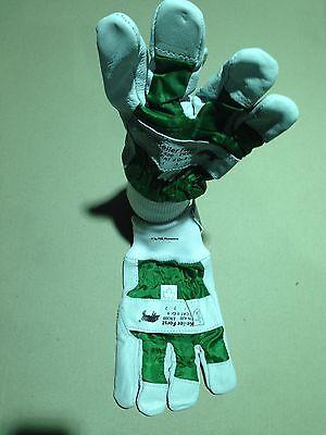 Leder 9,0 Forsthandschuhe Herzhaft 4 Paar Keiler Forst-handschuhe Gr Neu