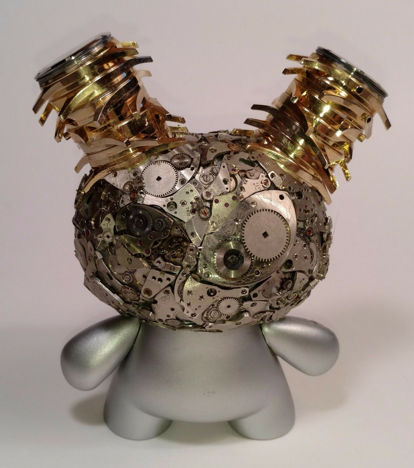 Kidrobot Exquisite Steampunk Watch Parts Dunny Series THE WATCHER Dan Dan Dan Tanenbaum c5f102