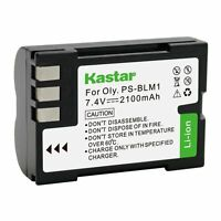 1x Kastar Battery For Olympus Ps-blm1 C-5060 C-7070 C-8080 E-1 E-3 E-30 E-520