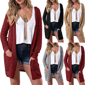 Womens-Winter-Warmer-Long-Sleeve-Knitted-Sweater-Jumper-Hooded-Top-Cardigan-Coat