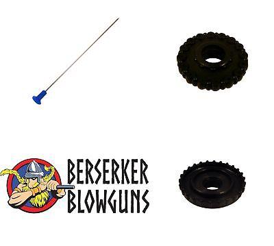 .40 cal Blowgun Stun Darts Assorted Colors from Berserker Blowguns 25