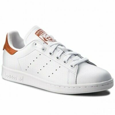 SCARPE ADIDAS ORIGINALS UOMO DONNA STAN SMITH B38040 BIANCO BROWN NUOVE  ORIGINAL | eBay