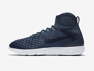 Image is loading Nike-Lunar-Magista-II-FK-FC-College-Navy-