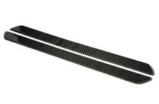 3M Adesivo e Facile Installazione ACEOLT 4 Pezzi//Set in Pelle in Fibra di Carbonio Protezione Battitacco Auto Batticalcagno Soglia Porta per Skoda Kamiq