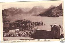 74 - cpa - Le lac d'ANNECY - Talloires et la chapelle du Toron