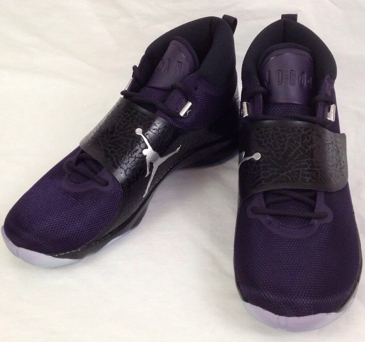 Air Jordan Super Fly 5 PO Mens Mens Mens shoes 10 Black Purple 2016 Basketball 881571-501 e8d59f