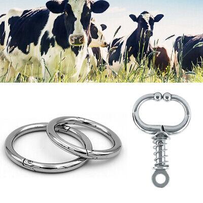 Schlagfessel für Rinder aus Edelstahl