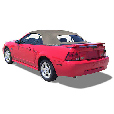 Ford Mustang Window for 94-04 in Parchment Sailcloth Vinyl