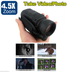 Night-Vision-Camera-Goggles-Monocular-IR-Security-Gen-2-Hunting-ScopeX1