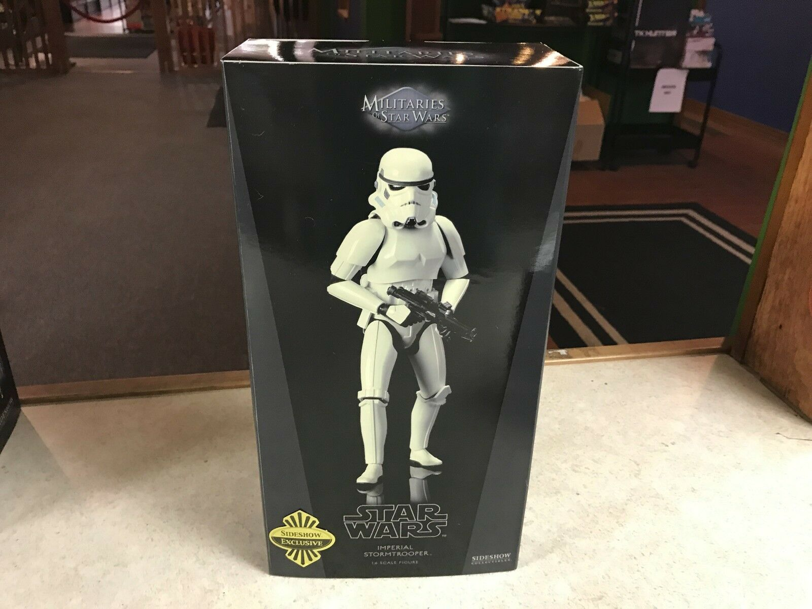 Sideshow Star Wars EXCLUSIVE IMPERIAL STORMTROOPER 12