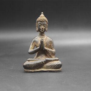 Beautiful-Old-Tibet-Tibetan-Bronze-Buddhism-Buddha-statue-Exorcism-peace-wealth