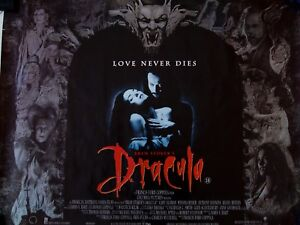 Bram Stoker S Dracula 1992 Original Vintage Quad Movie Film Poster 40 X 30 Ebay