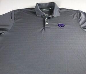 Kansas-St-Alumni-Polo-Shirt-Mens-XL-2XL-Dri-Fit-K-State-Student-Graduate-Golf