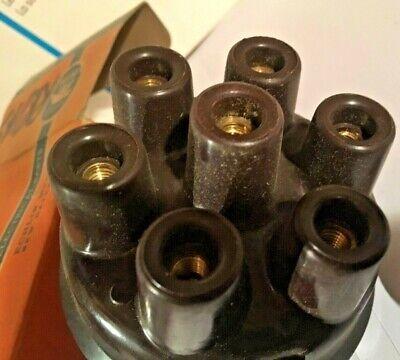 Oshkosh Mack Reo GMC Delco #1842714 Vintage Distributor Cap For 6 Cyl