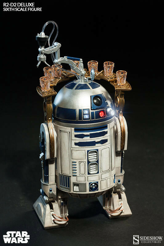 R2-D2 DELUXE SIXTH SCALE ACTION FIGURE BY SIDESHOW COLLECTIBLES