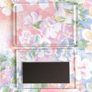 100x-Blank-Clear-Acrylic-Fridge-Magnets-97x66mm-Frame-amp-89x59mm-Photo-Size-E1317