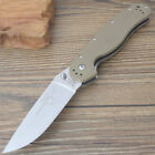 Ontario RAT1 desert G10 handle camping hunting folding knife EDC outdoor tool
