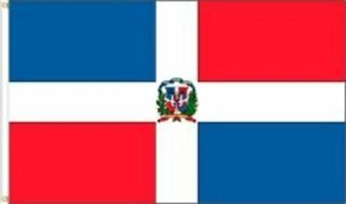 .. DOMINICAN REPUBLIC 3 X 5 FEET LARGE COUNTRY FLAG BANNER ... 92 CM X 152 CM