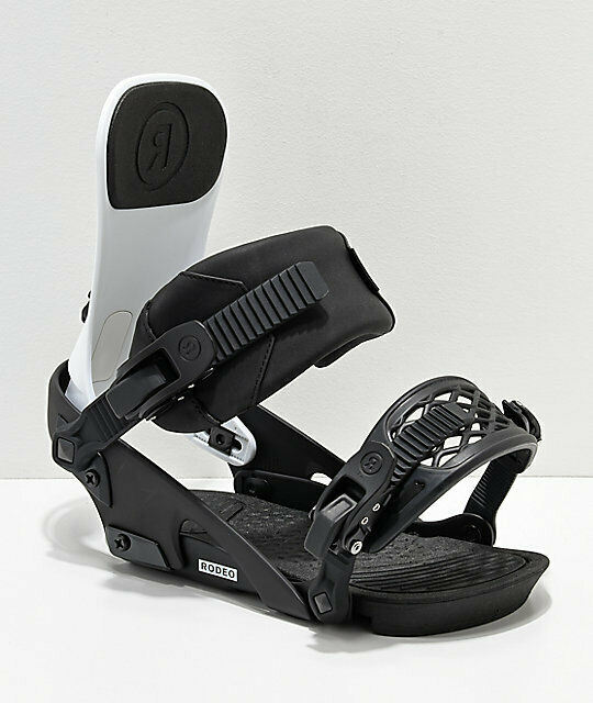 """LADDER STRAP tongue 8/"""" ankle black of Snowboard Binding Ride LS size L Large"""