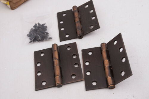 Bronze Color Steel or 2 C2L Stanley F179 Heavy Duty Hinges 05-0546 Lot of 3