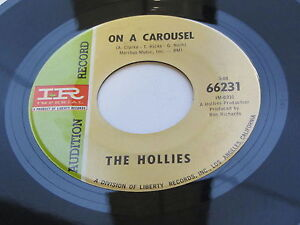 THE-HOLLIES-1967-USA-45-ON-A-CAROUSEL-AUDITION-RECORD-NOT-FOR-SALE
