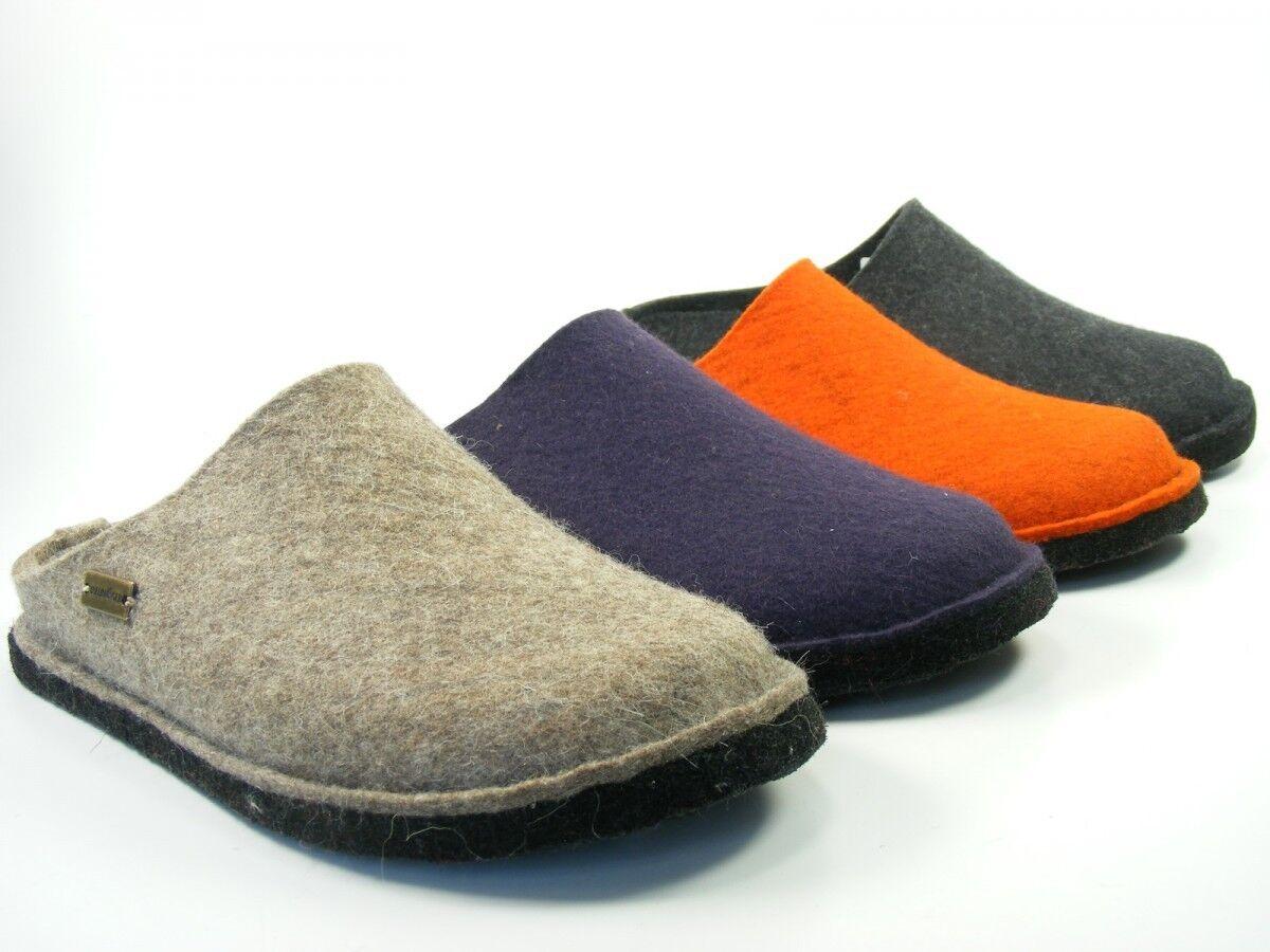 Haflinger Chaussures pantoufles femmes hommes pantoufles feutrine flair soft 311010