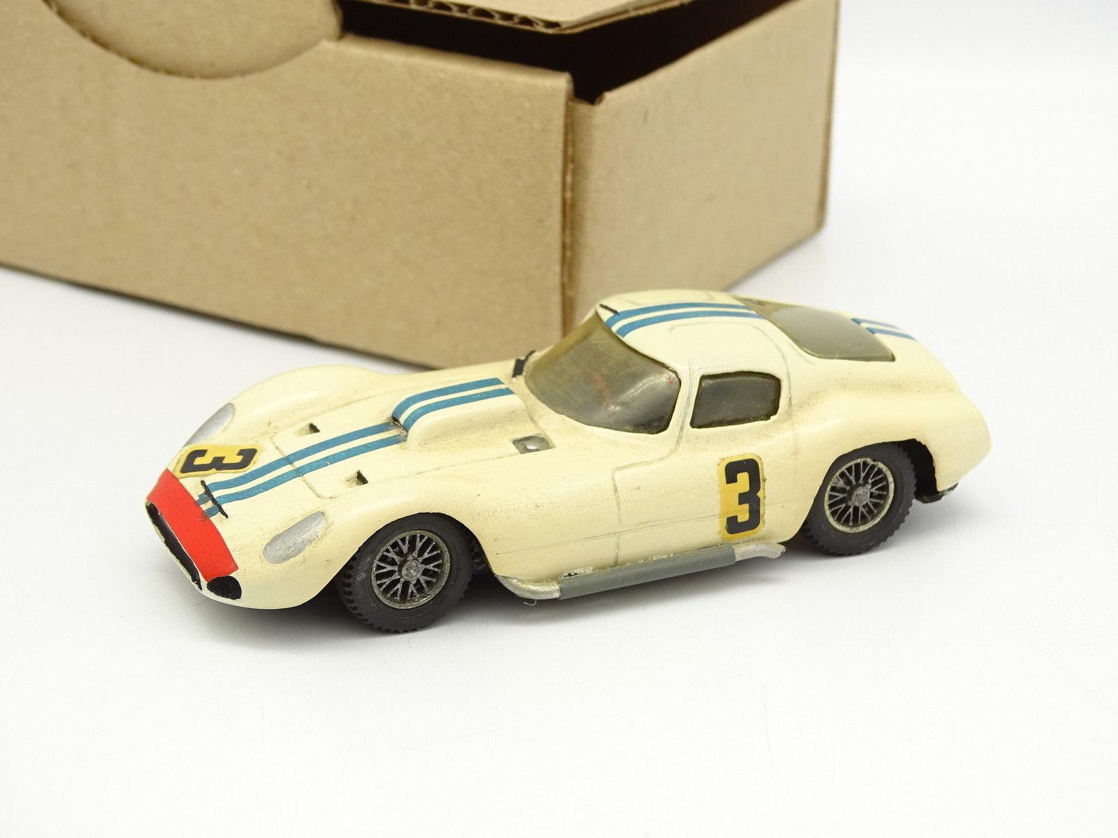 Kit Monté Métal SB 1 43 - Maserati Tipo 151 Le Mans 1962 N°3