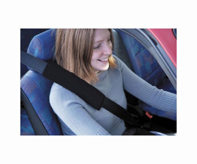 2x carbon fibre car seat belt cushion cover pads for VOLKSWAGEN VW UK stock