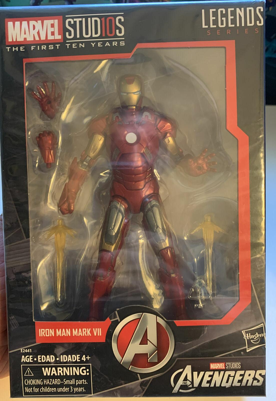 Hasbro Marvel Legends Studios First Ten Years Avengers Iron Man Mark VII #3 on eBay thumbnail