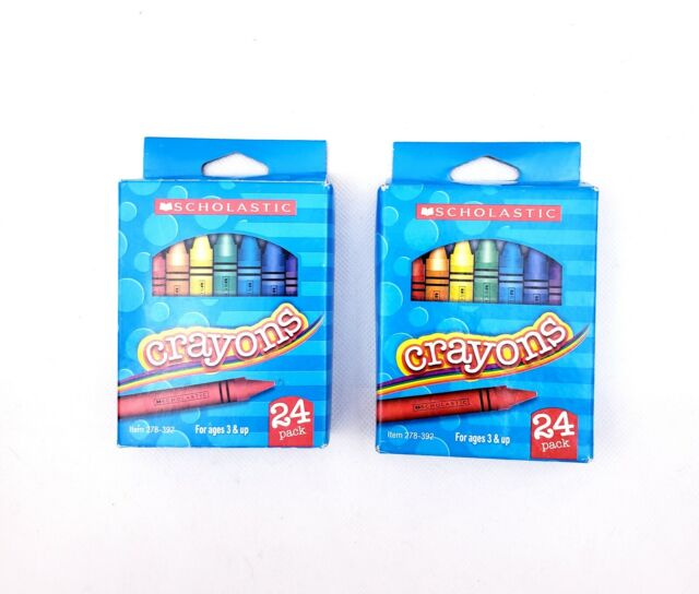 Little Penguin Pororo Box of 24 Pastel Crayons Character Crayon for Kids Home