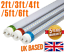 LED-T8-tube-lights-2ft-3ft-4ft-5ft-6ft-direct-replacement-all-colours-100-230VAC miniatuur 1