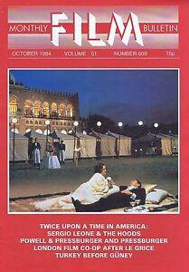 SERGIO-LEONE-POWELL-PRESSBURGER-Monthly-Film-Bulletin-Oct-1984