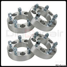"4pcs JK Wheel Spacers 5x5 1.5"" 1/2""x20 CB 87.1mm For Jeep Wrangler Commander 13"